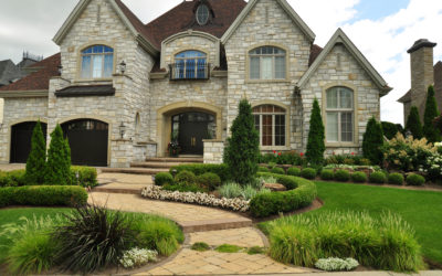 Comment avoir un aménagement paysager devant la maison moderne?
