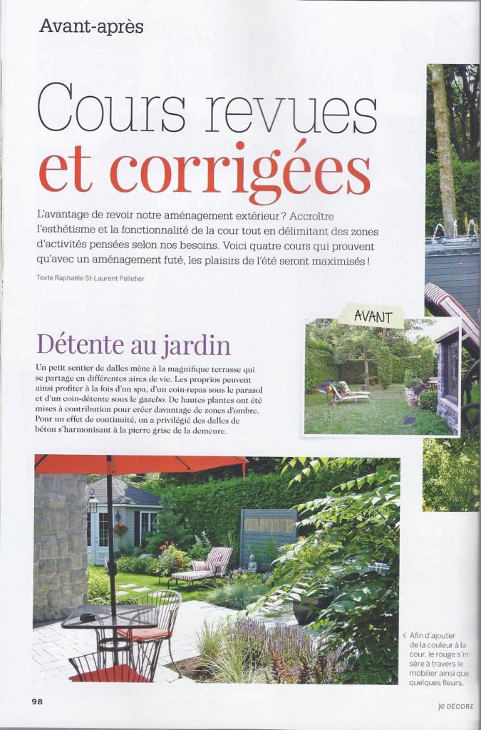 jardin paysager blainville