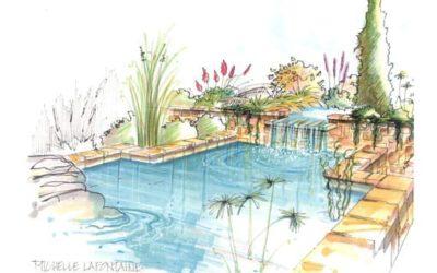 Les avantages de la conception d'un jardin en dessins et en plans 3D